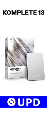 Native Instruments / KOMPLETE 13 ULTIMATE Collector's Edition UPD (アップデート版)【ネイティブインストゥルメンツ】【DTM / ソフトシンセ】【期間限定半額セール / 6月30日まで】 2大特典セット