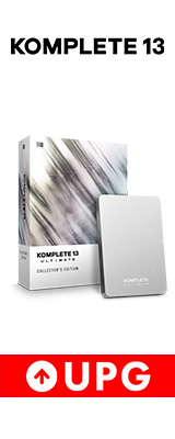 Native Instruments / KOMPLETE 13 ULTIMATE Collector's Edition UPG FOR K8-13 (アップグレード版)【ネイティブインストゥルメンツ】【DTM / ソフトシンセ】【期間限定半額セール / 6月30日まで】 3大特典セット