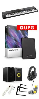 KOMPLETE KONTROL S88 MK2 / KOMPLETE 13 UPG 激安プロ向けオススメセット 5大特典セット