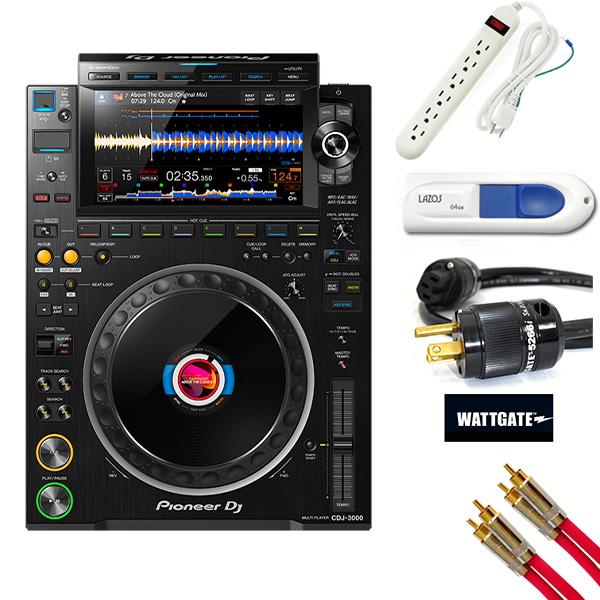 Pioneer DJ(パイオニア) / CDJ-3000 ハイレゾ対応 プロフェッショナル DJマルチプレイヤー 【9月24日発売】※CD非対応