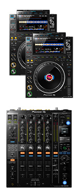 CDJ-3000 2台 / DJM-900NXS2 セット 【ギガビット対応スイッチングハブプレゼント】 11大特典セット