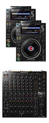 CDJ-3000 2台 / DJM-V10 セット 【ギガビット対応スイッチングハブプレゼント】 11大特典セット