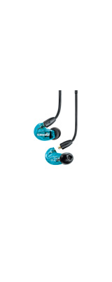 Shure(シュアー) / AONIC 215 Special Edition トランスルーセントブルー(SE215DYBL+UNI-A) 高遮音性イヤホン 1大特典セット
