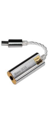 iBasso Audio(アイバッソ オーディオ) / DC03 (SILVER)スマートホンとの接続に最適 3.5mmステレオ端子仕様 USB TYPE-C向け小型 USB DAC
