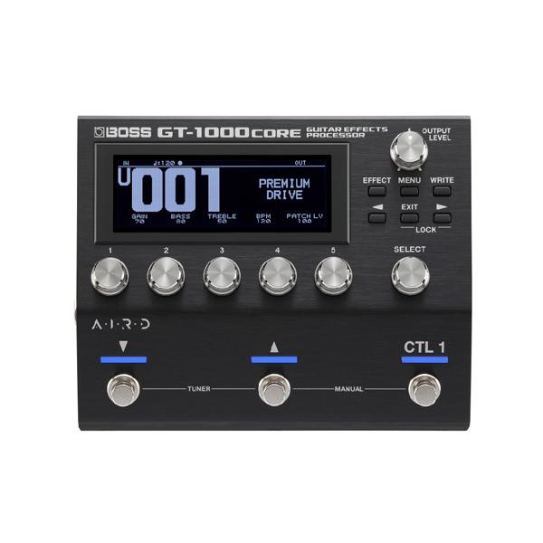 【限定1台】 Boss(ボス) / GT-1000CORE / Guitar Effects Processor マルチエフェクター の商品レビュー評価はこちら