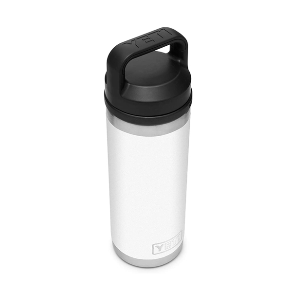 【アウトレット品】 YETI COOLERS(イエティクーラーズ) / Rambler ランブラー 18oz / White /  ランブラー チャグキャップ ボトル アウトドア 【直輸入品】