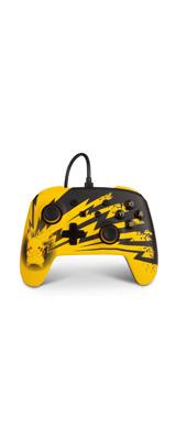 PowerA / Pikachu Lightning / ピカチュウ ライトニング / 有線 Switch USB ゲーム コントローラー 【海外限定 公式ライセンス品】