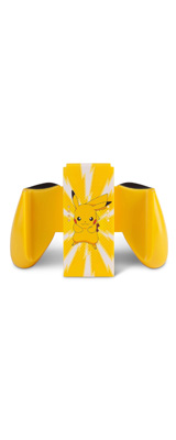 PowerA / Pikachu Joy-Con Grip  / ピカチュウ Joy-Con ジョイコン グリップのみ / ゲーム コントローラー 【海外限定 公式ライセンス品】