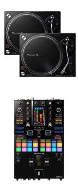 Pioneer DJ(パイオニア) / PLX-500-K DJM-S11セット 【Serato DVS、rekordbox DVS対応】 4大特典セット