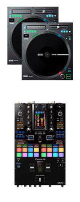 Pioneer DJ(パイオニア) / DJM-S11 Rane / TWELVE MK2 セット 【Serato DVS対応】 4大特典セット