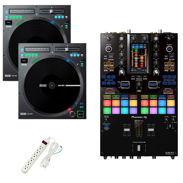 Pioneer DJ(パイオニア) / DJM-S11 Rane / TWELVE MK2 セット【Serato DVS、rekordbox DVS対応】
