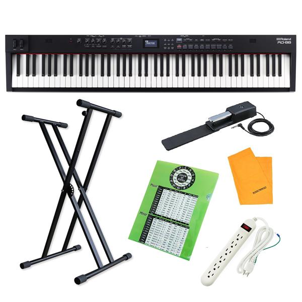 【X型スタンドセット】 Roland(ローランド)  / RD-88 / STAGE PIANO デジタルピアノ 電子ピアノ 【※本体在庫1台のみ】