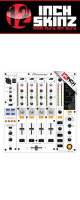 ■ご予約受付■ 12inch SKINZ / Pioneer DJM-850 SKINZ (WHITE/GRAY) 【DJM-850用スキン】