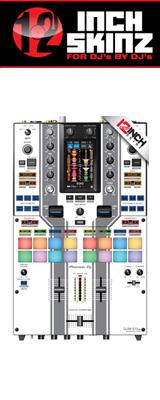 12inch SKINZ / Pioneer DJM-S11 SKINZ Special Edition Colors (WHITE/GRAY) 【DJM-S11用スキン】