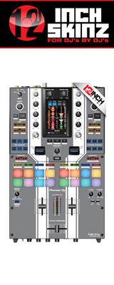 12inch SKINZ / Pioneer DJM-S11 SKINZ Special Edition Colors (GRAY) 【DJM-S11用スキン】