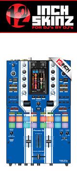 12inch SKINZ / Pioneer DJM-S11 SKINZ Special Edition Colors (BLUE) 【DJM-S11用スキン】