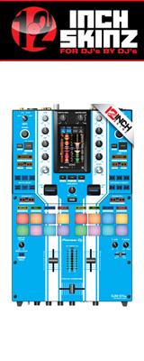 12inch SKINZ / Pioneer DJM-S11 SKINZ Special Edition Colors (LITE BLUE) 【DJM-S11用スキン】