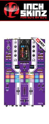 12inch SKINZ / Pioneer DJM-S11 SKINZ Special Edition Colors (PURPLE) 【DJM-S11用スキン】