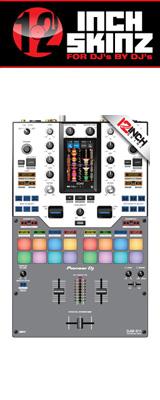 12inch SKINZ / Pioneer DJM-S11 SKINZ (GRAY) 【DJM-S11用スキン】