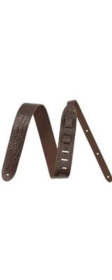 FENDER(フェンダー) / Alligator Print Leather / アリゲーター ワニ革プリントデザイン / ギター ストラップ 【直輸入品】