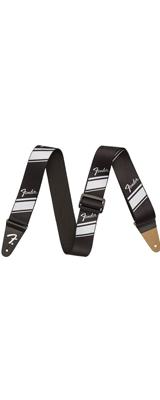 FENDER(フェンダー) / Competition Stripe / Silver / ストライプ ギター ストラップ 【直輸入品】