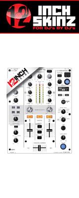 12inch SKINZ / Pioneer DJM-450 SKINZ (WHITE / GRAY) 【DJM-450用スキン】