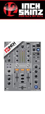 12inch SKINZ / Pioneer DJM-450 SKINZ (GRAY) 【DJM-450用スキン】