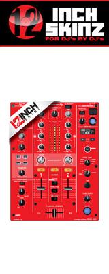 12inch SKINZ / Pioneer DJM-450 SKINZ (RED) 【DJM-450用スキン】