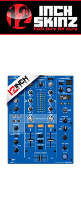 12inch SKINZ / Pioneer DJM-450 SKINZ (BLUE) 【DJM-450用スキン】