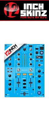 12inch SKINZ / Pioneer DJM-450 SKINZ (LITE BLUE) 【DJM-450用スキン】