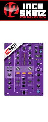 12inch SKINZ / Pioneer DJM-450 SKINZ (PURPLE) 【DJM-450用スキン】