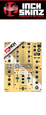 12inch SKINZ / Pioneer DJM-450 SKINZ Metallics (MIRROR GOLD) 【DJM-450用スキン】