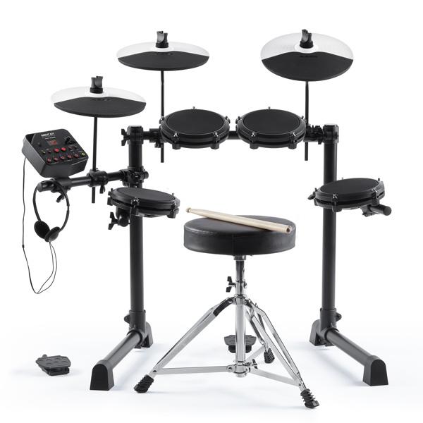 ALESIS(アレシス) / DEBUT KIT メッシュヘッド 電子ドラム / キッズ向け・子ども用ドラム入門セット 【ヘッドホン・ドラムスローン・スティック付属】