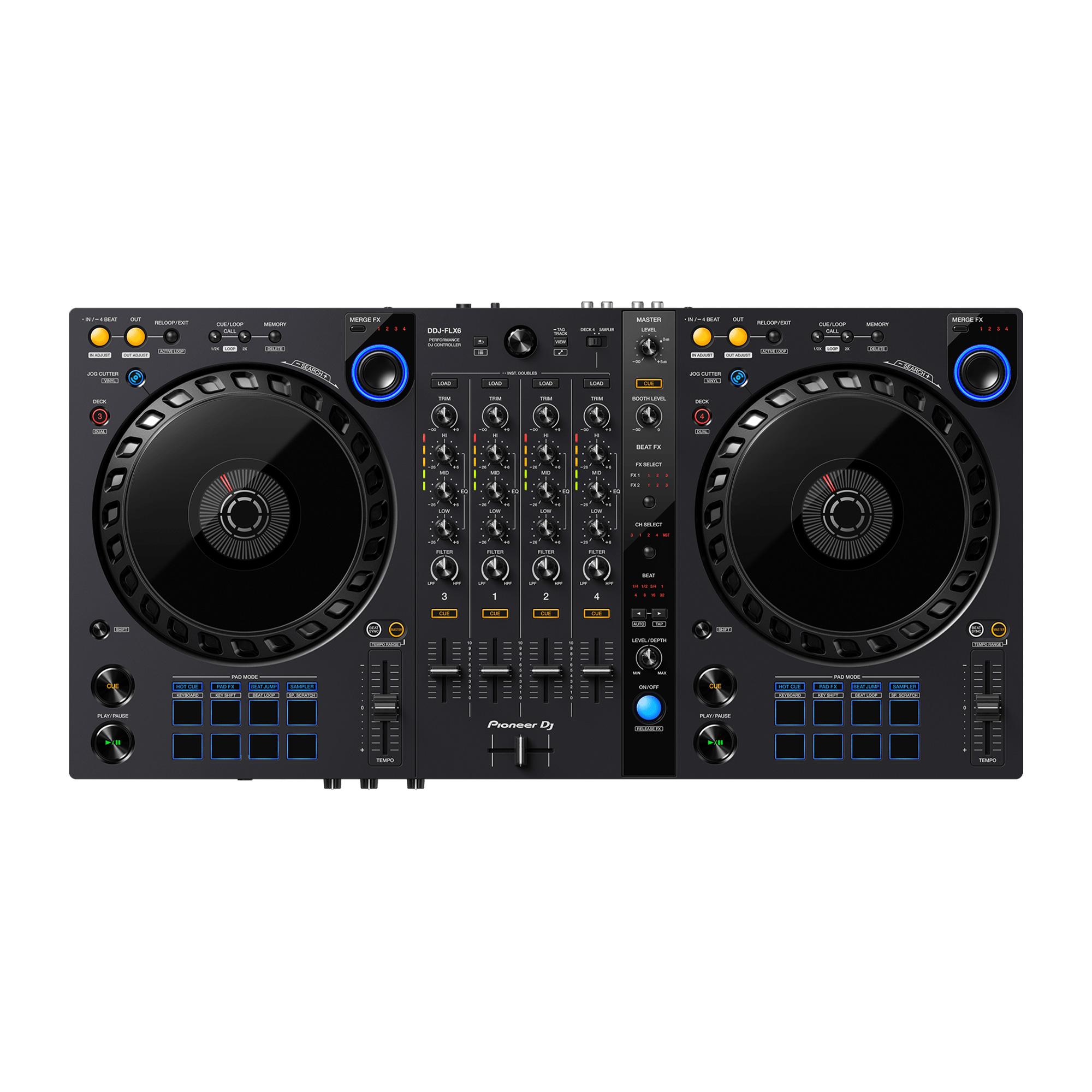 【限定2台】Pioneer DJ(パイオニア) / DDJ-FLX6の商品レビュー評価はこちら