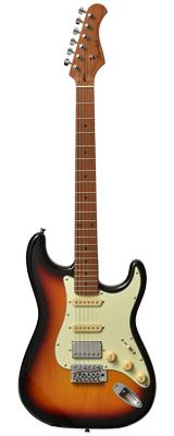 新品 Bacchus(バッカス) / BST-2-RSM/M 3TS エレキギター ローステッドメイプルネック仕様 数量限定おまけ付き