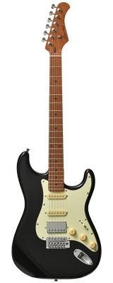 新品 Bacchus(バッカス) / BST-2-RSM/M BLK エレキギター ローステッドメイプルネック仕様 数量限定おまけ付き