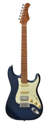 新品 Bacchus(バッカス) / BST-2-RSM/M DLPB エレキギター ローステッドメイプルネック仕様 数量限定おまけ付き