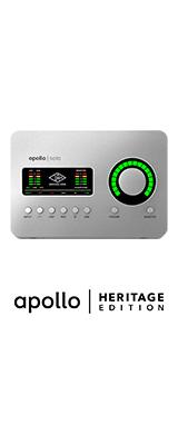Universal Audio(ユニバーサルオーディオ) / Apollo Solo Heritage Edition - Thunderbolt 3 オーディオインターフェース  -