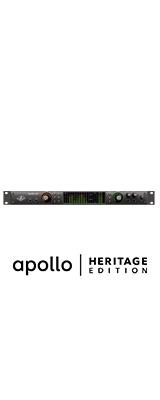 Universal Audio(ユニバーサルオーディオ) / Apollo X6 Heritage Edition - 2xUnisonマイクプリアンプ搭載16イン/22アウトオーディオインターフェイス  - 1大特典セット