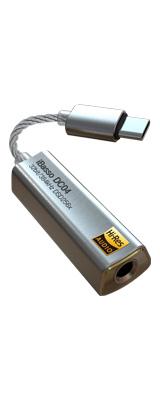 iBasso Audio(アイバッソ オーディオ) / DC04 (SILVER) 4.4mmバランス仕様 USB TYPE-C対応 小型 USB DAC