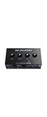 ■ご予約受付■ M-Audio(エム・オーディオ) / M-Track Duo -USBオーディオ・インターフェース - 【Mac・Windows・iOS対応】【1月28日発売予定】