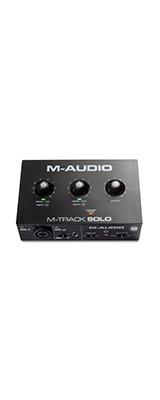 ■ご予約受付■ M-Audio(エム・オーディオ) / M-Track Solo -USBオーディオ・インターフェース - 【Mac・Windows・iOS対応】【1月28日発売予定】