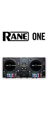 ■ご予約受付■ RANE(レーン) / ONE モーター駆動PCDJコントローラー 【Serato DJ Pro付属、DVS有償対応】【次回6月頃入荷予定】 7大特典セット