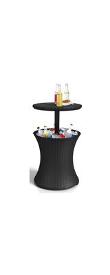 Keter / Cool Bar Side Cooler Table / バーテーブル DJ / Dark Grey 7.5ガロン / テーブル兼クーラーテーブル 【輸入品】