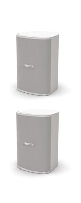 ■ご予約受付■ BOSE(ボーズ) / DesignMax DM3SE WHT (ペア / ホワイト) 全天候型 露出型 壁掛けスピーカー 【ブラケット付属】 1大特典セット