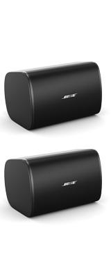 BOSE(ボーズ) / DesignMax DM5SE BLK (ペア / ブラック) 全天候型 露出型 壁掛けスピーカー 【ブラケット付属】 1大特典セット