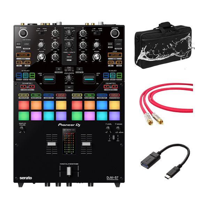 Pioneer DJ(パイオニア) / DJM-S7 【Serato DVS、rekordbox DVS対応】 DJミキサー