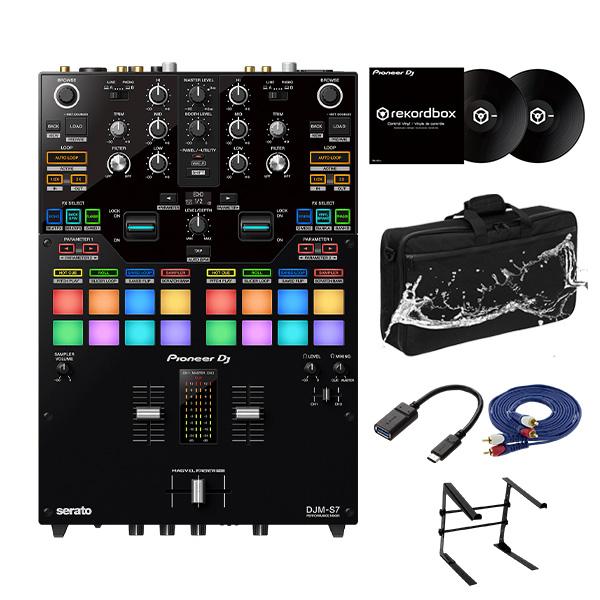 Pioneer DJ(パイオニア) / DJM-S7 rekordboxコントロールバイナルセット 【rekordbox DVS 対応】 4大特典セット
