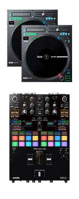 Pioneer DJ(パイオニア) / DJM-S7 Rane / TWELVE MK2 セット 【Serato DVS対応】 3大特典セット