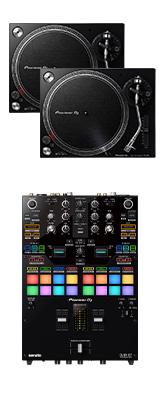 ■ご予約受付■ Pioneer DJ(パイオニア) / PLX-500-K DJM-S7セット 【Serato DVS、rekordbox DVS対応】 9大特典セット